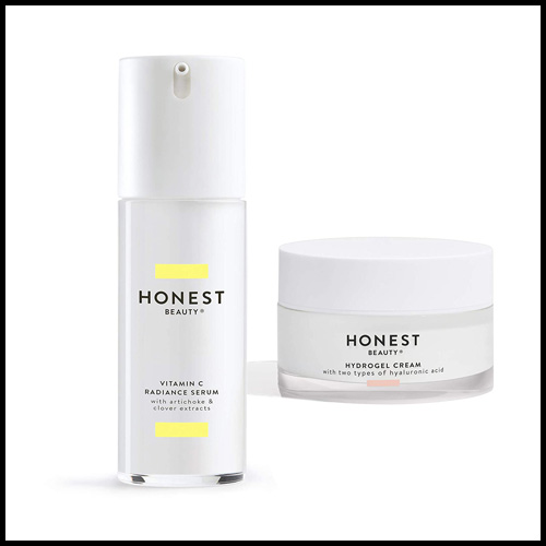 Honest Cream with Two Types of Hyaluronic Acid, honest beauty hydrogel cream review